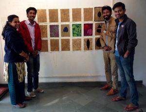 India Fellows in my studio