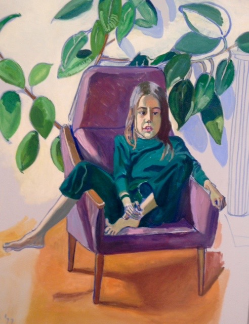 Alice Neel, oil on canvas