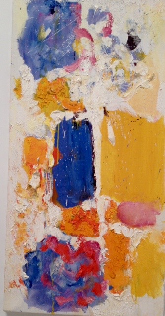 Joan Mitchell, oil on canvas