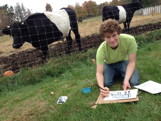 Hampshire Farm Student