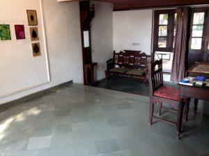 My studio at Sanskriti Kendra