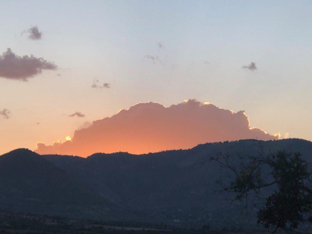Another spectacular desert sunset.