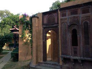 Buildings on the Sanskriti grounds