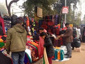 New Delhi market
